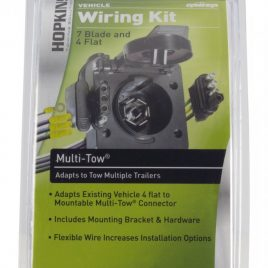 HOPKINS TOWING SOLUTIONS VEHICLE WIRING KIT 7 BLADE AND 4 FLAT