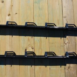 LOCKABLE 4 PLACE EQUIPMENT RACK