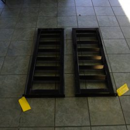 4FT STEEL RAMPS SET OF TWO