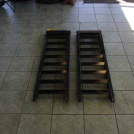 5FT STEEL RAMPS SET OF TWO